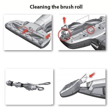 Power Brushroll Removal