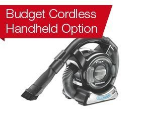 Budget Cordless Option: Black and Decker BDH2000FL