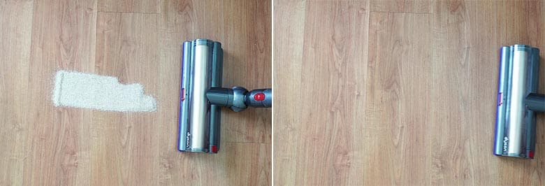 Dyson V11 Outsize edge cleaning