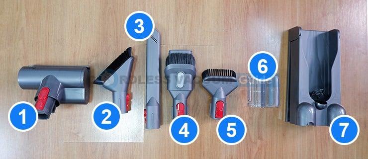 Dyson V11 tools