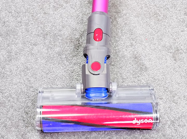 Dyson V7 Soft Roller on floor