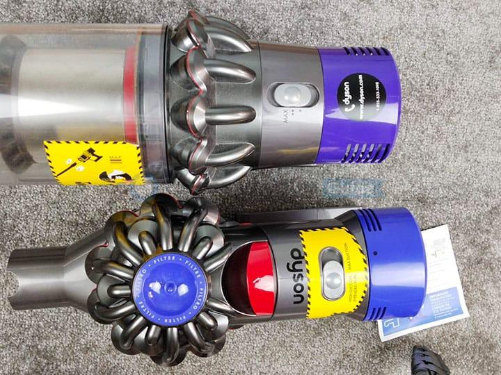 Dyson V8 and V10 Power Setting
