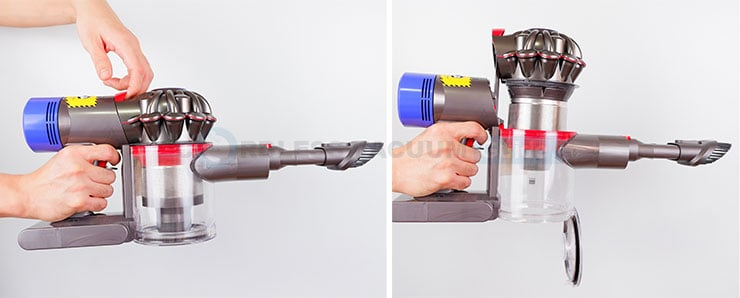 Dyson V8 dust cup