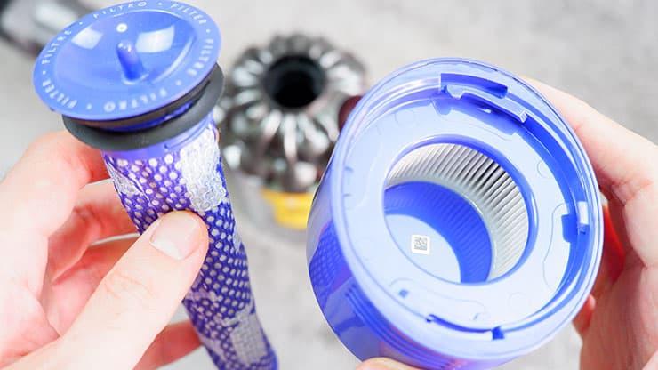Dyson V8 filters