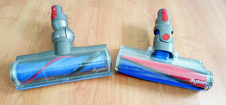 Dyson V8 Fluffy and Direct Drive