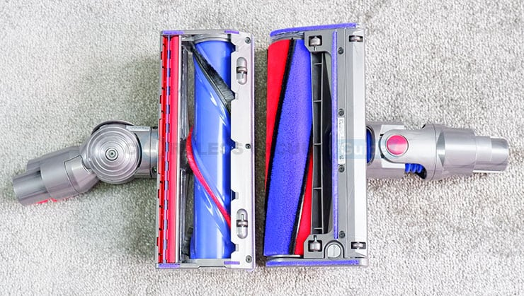 Dyson V8 soft roller and direct drive tool
