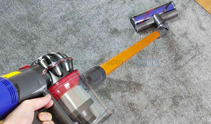 Dyson V8 stick vacuum mode