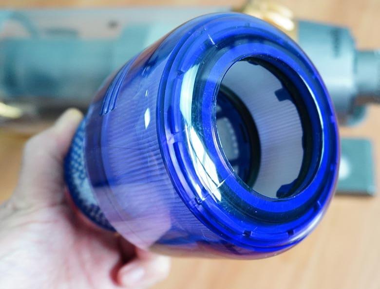 Dyson V11 Outsize HEPA filter portion