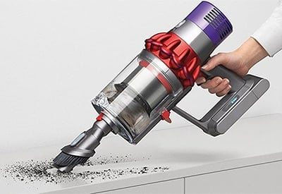 dyson v10 comparison review of dyson s current top dog. Black Bedroom Furniture Sets. Home Design Ideas