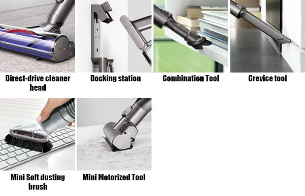 Image of: Deals V6 Animal Tools Cordless Vacuums Dyson V6 Comparison Dissecting The Differences In The V6 Product Line
