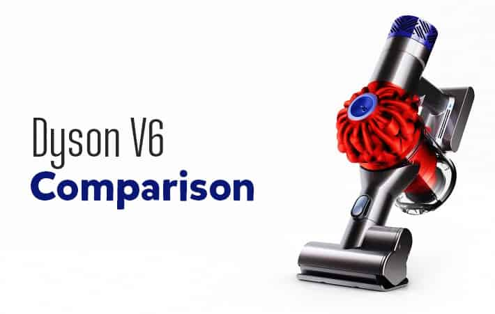 Image of: Absolute Up Until Now Even With The More Powerful V8 Absolute In The Market The V6 Remains Popular Option In Amazon Because Of The Price Drop And Value For Money Cordless Vacuums Dyson V6 Comparison Dissecting The Differences In The V6 Product Line
