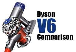 Dyson V6 Comparison