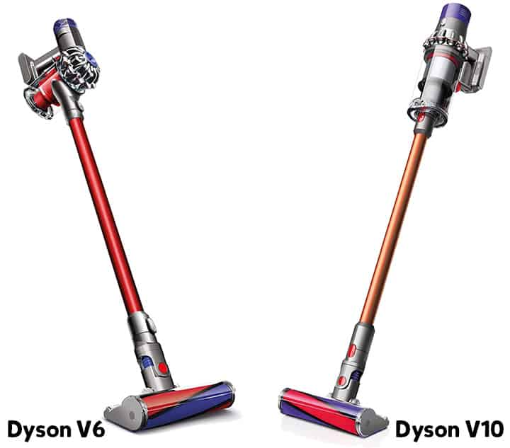 Dyson V6 Vs V10 Comparison And Review Which Is The Better