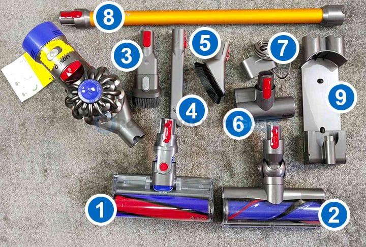 Dyson V8 Tools