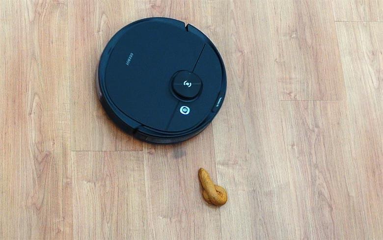Ecovacs N8 Pro avoiding fake feces
