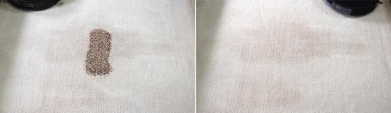 Ecovacs T8 AIVI quinoa on mid pile carpet