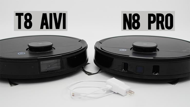 Ecovacs T8 AIVI vs N8 Pro