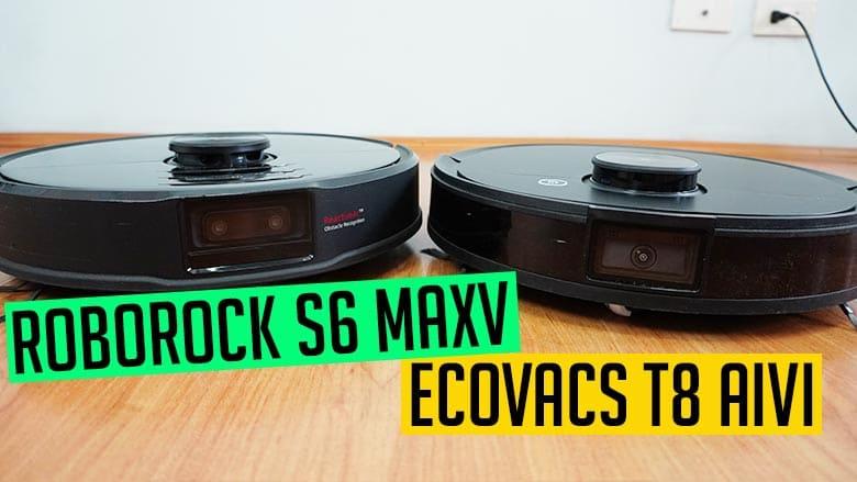 Ecovacs T8 AIVI vs Roborock S6 MaxV