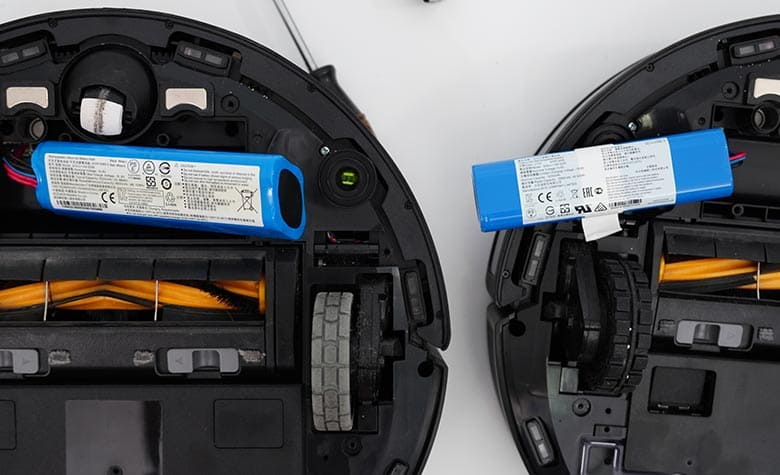 Ecovacs T8 vs N8 Pro battery