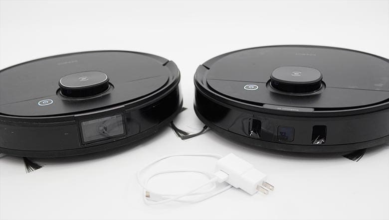 Ecovacs T8 and N8 Pro obstacle avoidance sensors
