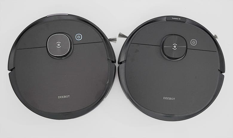 Ecovacs T8 and N8 Pro shape