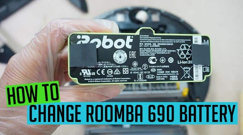 How to change Roomba 690