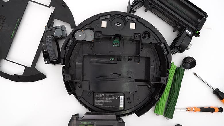 How to clean Roomba I3