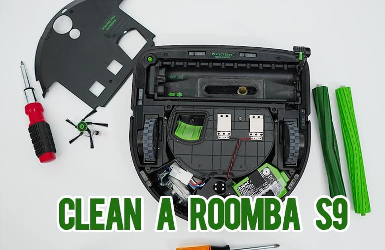 How to Clean a Roomba S9