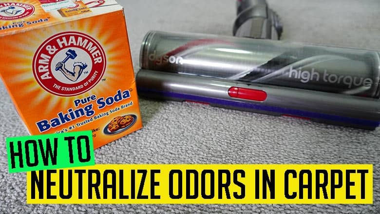How to neutralize odors in carpet