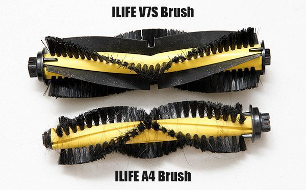 ILIFE A4 and V7S Brush