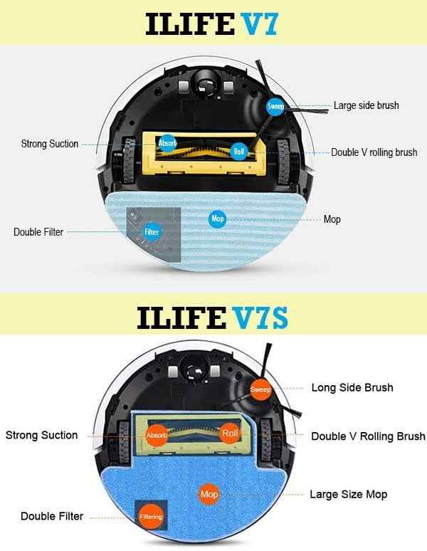 ILIFE V7 and V7S