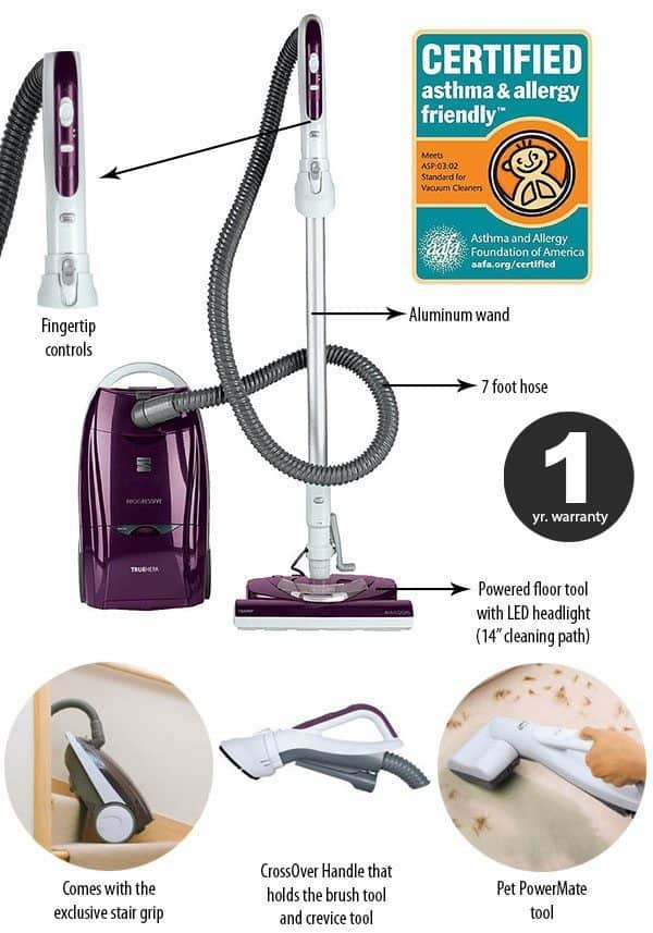 Kenmore Progressive Review Deep Cleaning Canister Vacuum