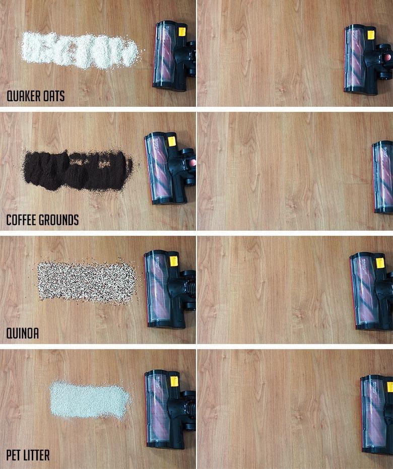 Moosoo K17 cleaning hard floors