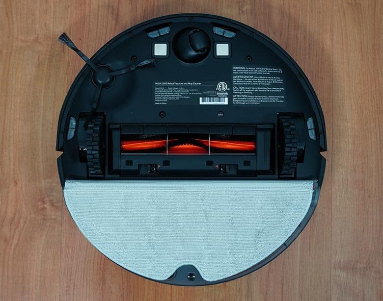 Mova L600 water tank attached