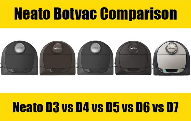 Neato Botvac Comparison