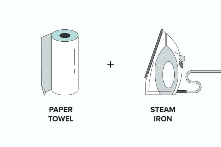 Paperr Towel + Steam Iron