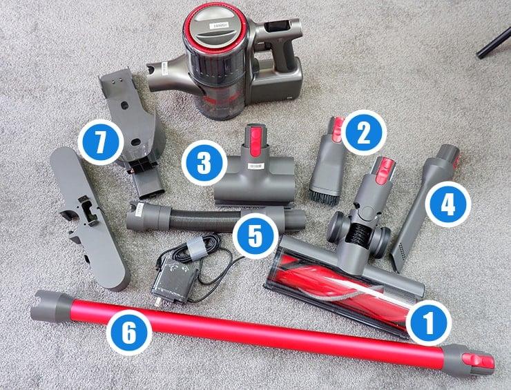 Roborock H6 tools