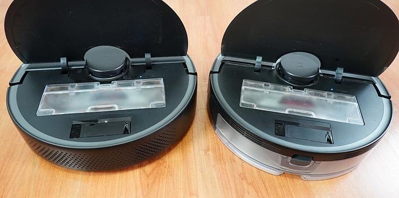 Roborock S4 Max vs S5 Max dustbin