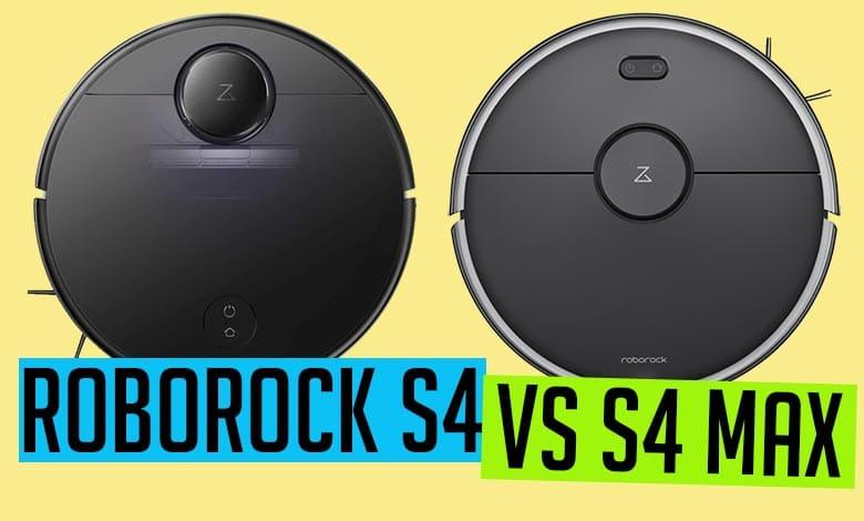 Roborock S4 vs S4 Max