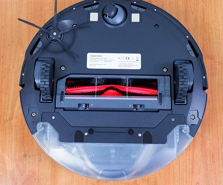 Bottom view of the Roborock S5 Max