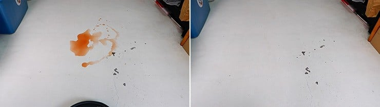 Roborock S6 MaxV mopping wet messes