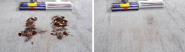 Roidmi F8 vs Dyson V10 Carpet Cleaning Test