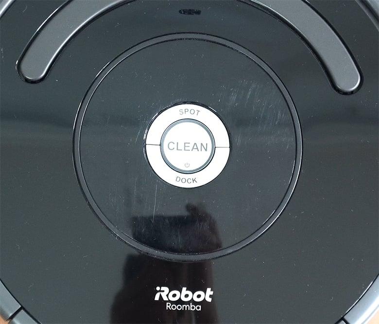 Roomba 675 interface