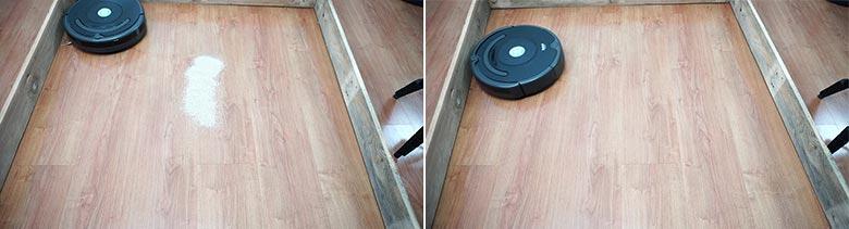 Roomba 675 sand on hard floor