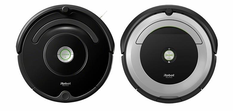 Roomba 675 vs 690 top