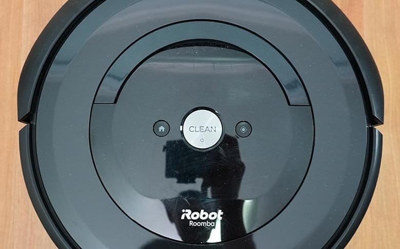 Roomba E5 interface