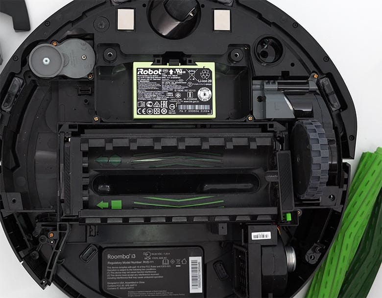 Roomba I3 reattach side wheels