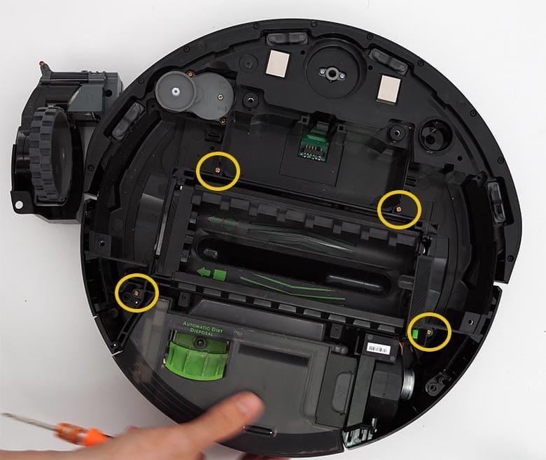 Roomba I3 wheel module bolts