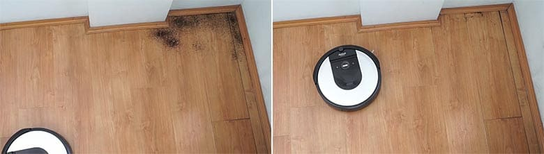 Roomba I6 edge cleaning