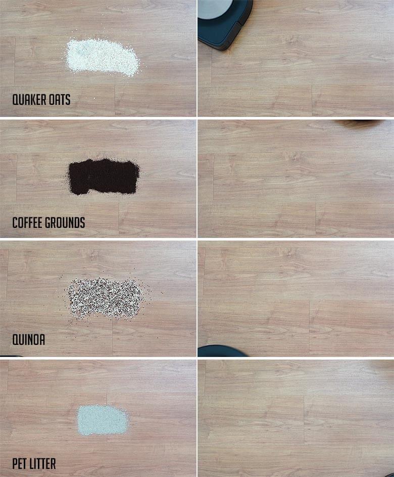 Roomba S9 hard floor results